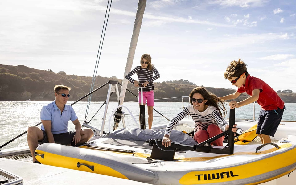 TIWAL 2 furling sail 5,60m²